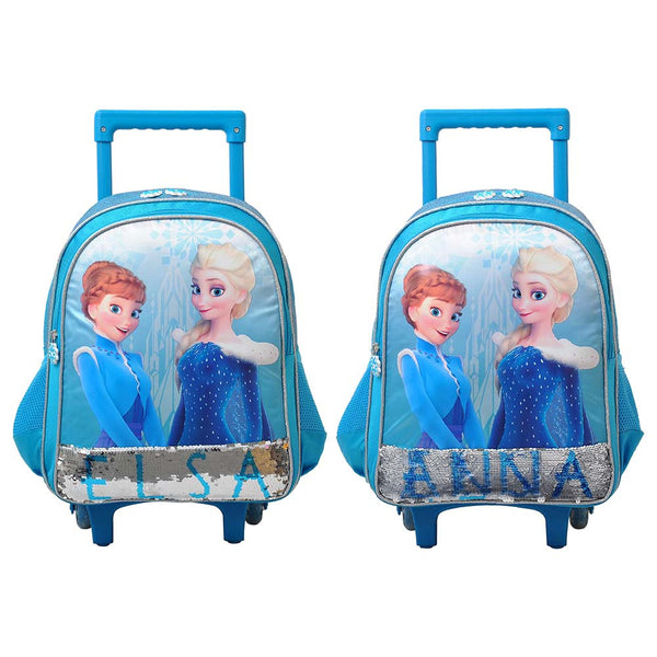 "Disney - Frozen Fun 14"" Trolley Bag Pack of 2 - Blue"
