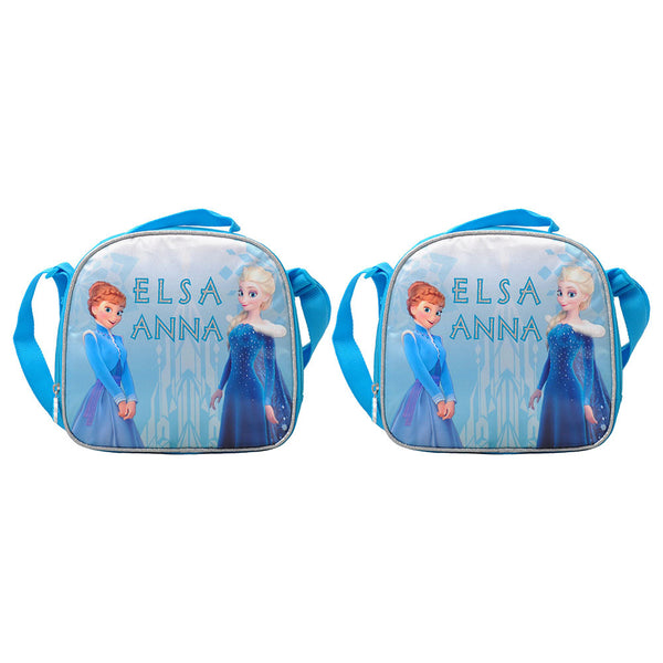 Disney - Frozen Fun Lunch Bag 1 Part Pack of 2 - Blue