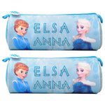 Disney - Frozen Fun Elsa Anna Pencil Case Pack of 2 - Blue