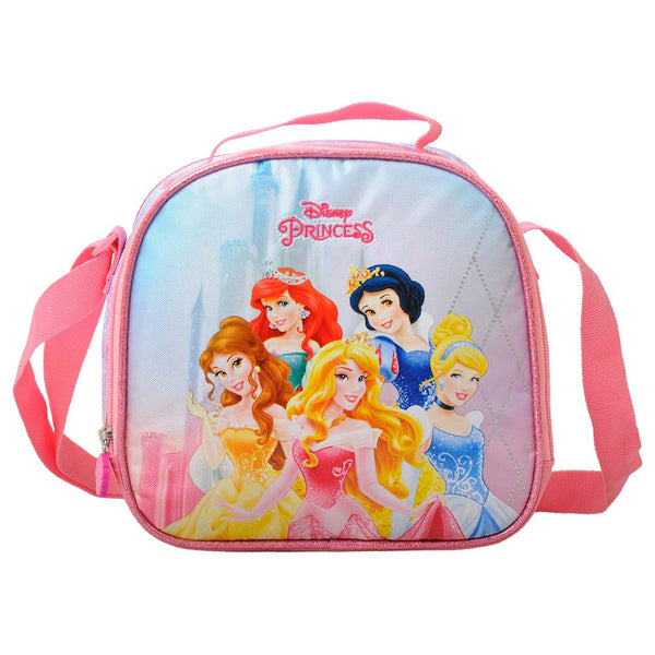 Disney - Princess Shine Lunch Bag 1 Part - Pink