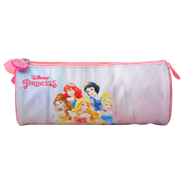 Disney - Princess Shine Round Pencil Case - Pink