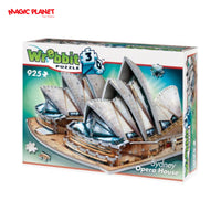 Sydney Opera House 3D Puzzle: 925 Pieces