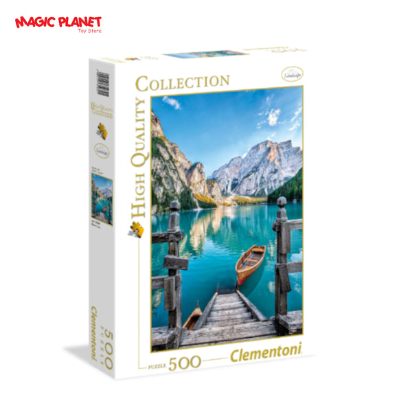 CLEMENTONI Braies Lake Puzzle - 500 Pieces