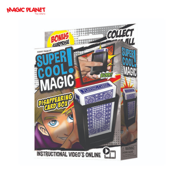 HANKY PANKY - Super Cool Magic (Disappering Card Box)