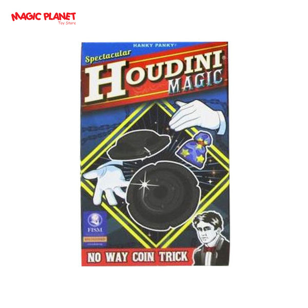 HANKY PANKY - Houdini Magic (No Way Coin Trick)