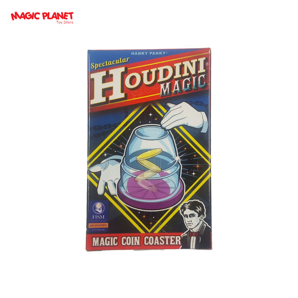 HANKY PANKY - Houdini Magic (Magic Coin Coaster)