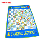 Snakes & Ladders Game (Giant Game)