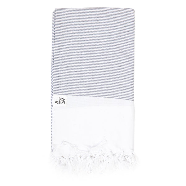 Manhattan Turkish Towel Charcoal