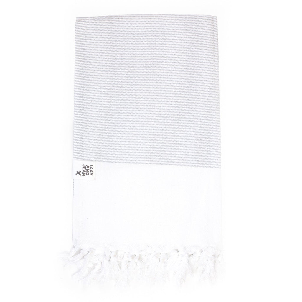 Manhattan Turkish Towel Dove Grey