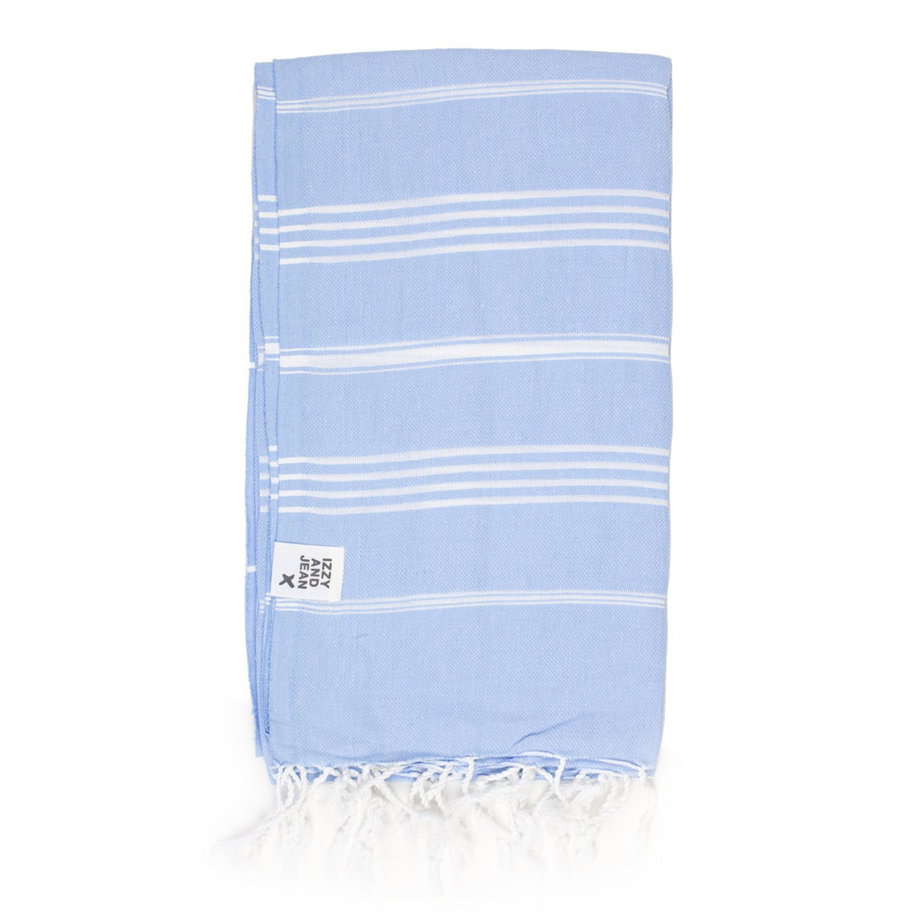 Classic Turkish Towel Powder Blue