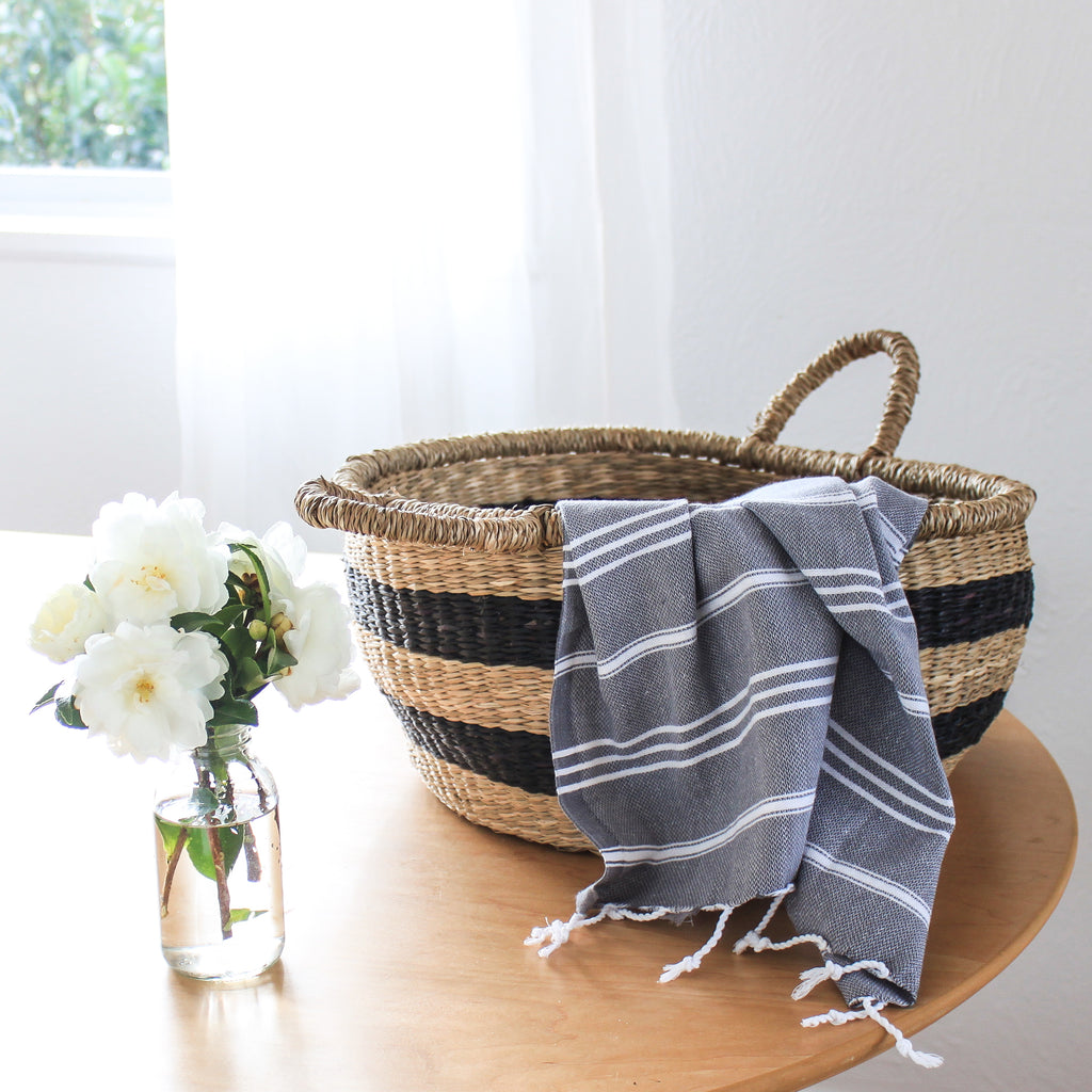 Classic Small Towel Denim