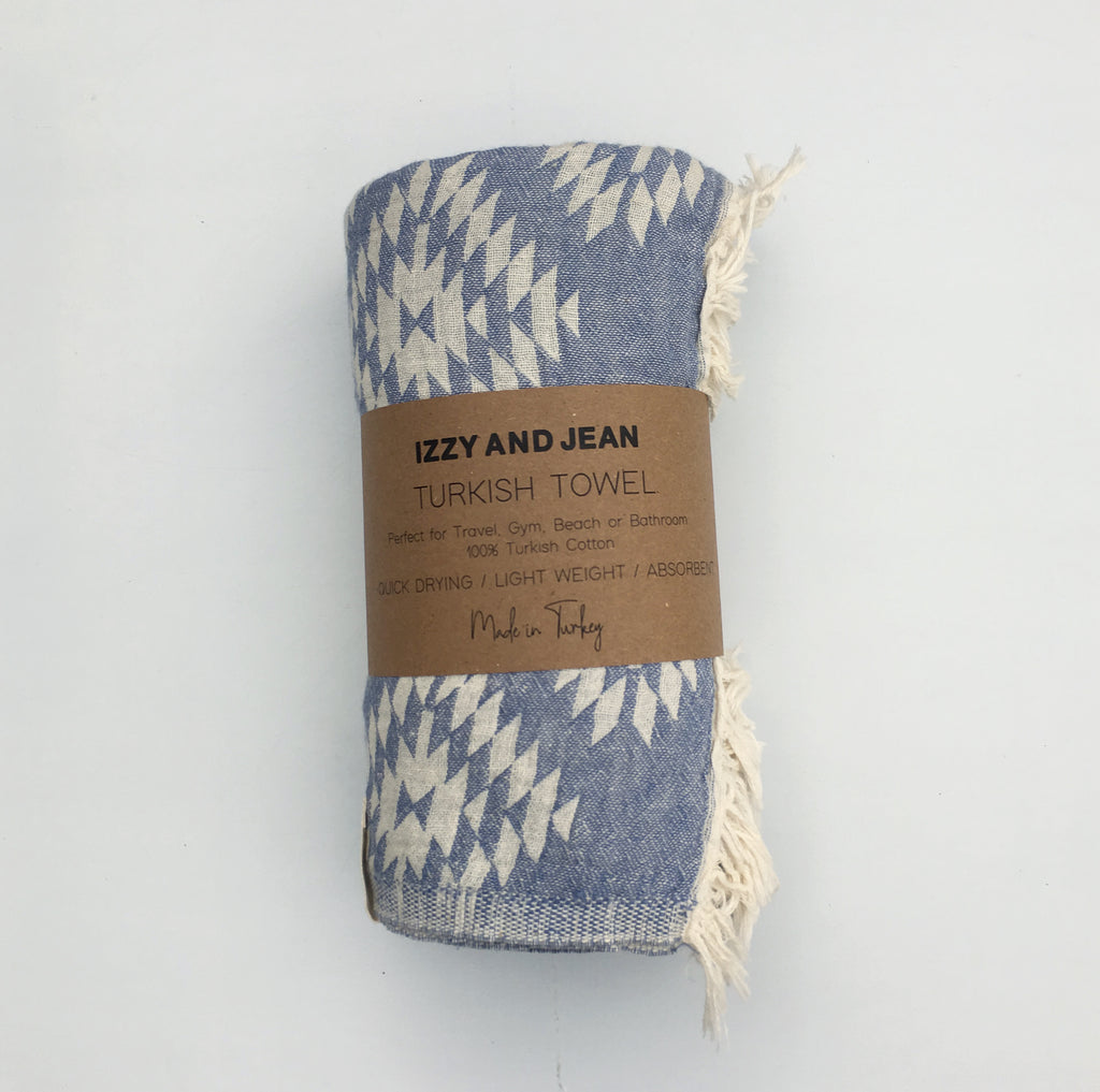 Kilim Turkish Towel Denim