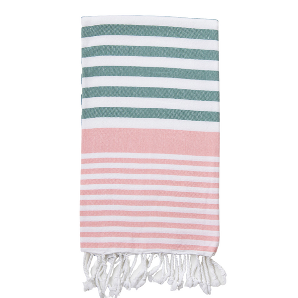 Sofia Turkish Towel Sage Peony - NEW