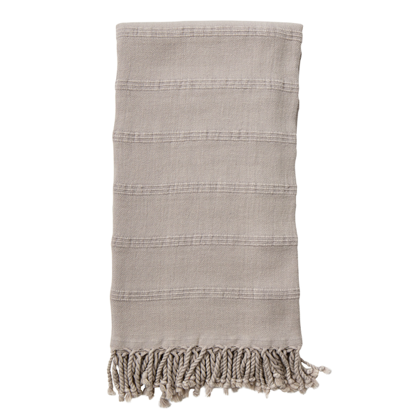 Stonewashed Turkish Towel Sand