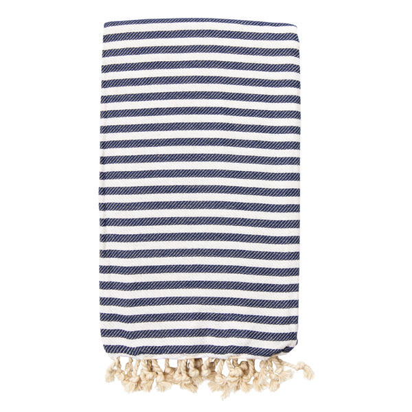 St Tropez Turkish Towel Navy