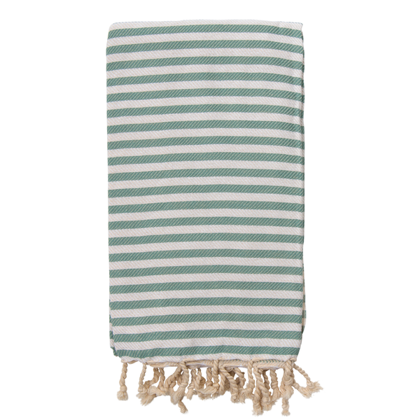 St Tropez Turkish Towel Sage - NEW
