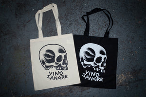 Skully Tote Bag