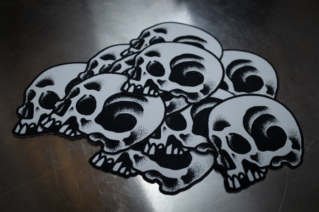 Skully Woven Patch