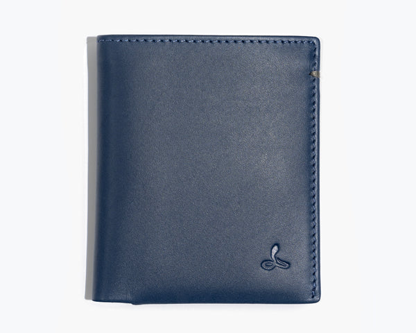 LEATHER BIFOLD WALLET - THE ESSENTIAL COLLECTION