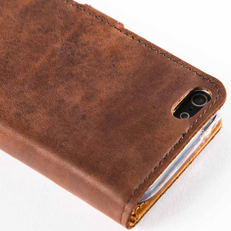 Vintage Leather Wallet - Apple iPhone 5/5S/SE (2016)