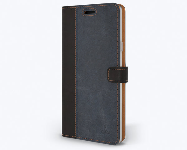 Vintage Two Tone Leather Wallet - Samsung Galaxy Note 9