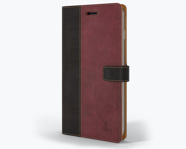 Vintage Two Tone Leather Wallet - Apple iPhone 7 Plus