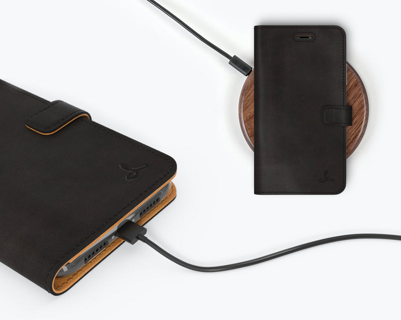 Vintage Leather Wallet - Apple iPhone 11