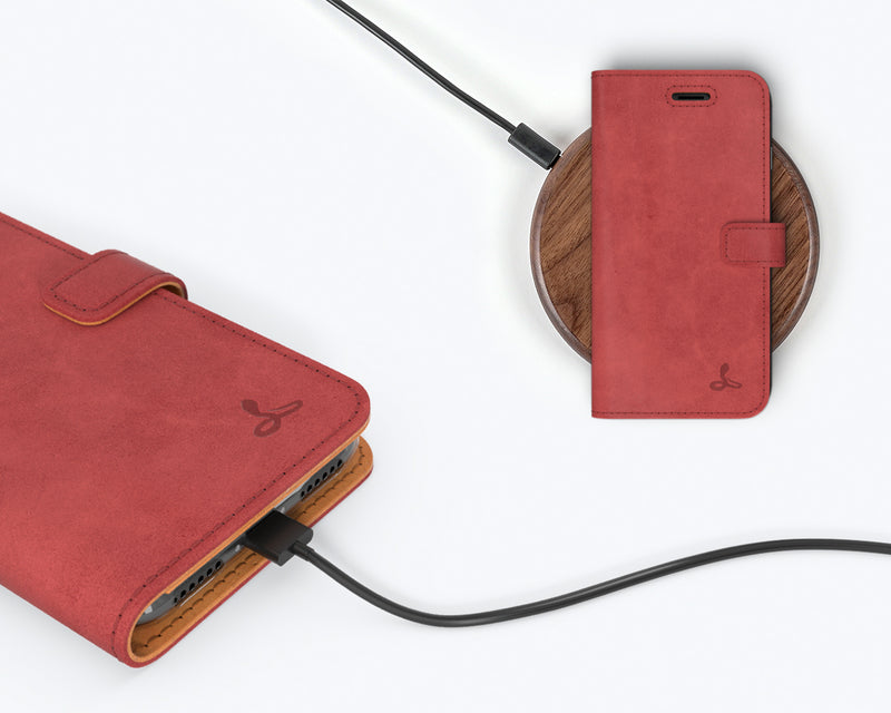 Vintage Leather Wallet - Apple iPhone 7