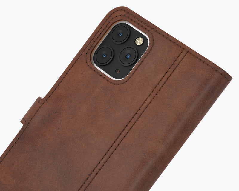 Vintage Leather Wallet - Apple iPhone 12 Pro