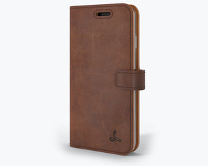 Vintage Leather Wallet - Apple iPhone SE (2020)