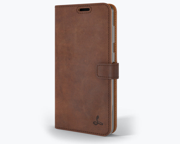 Vintage Leather Wallet - Samsung Galaxy S21 Plus
