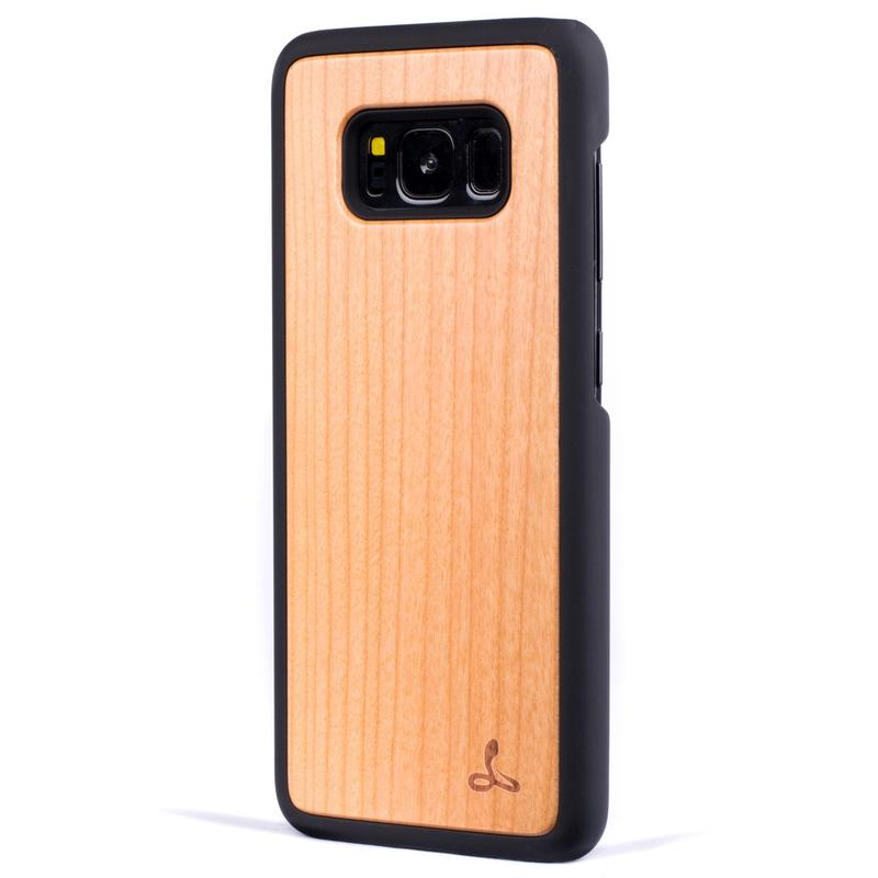 Wilderness Wood Back Case - Samsung Galaxy S8 Plus
