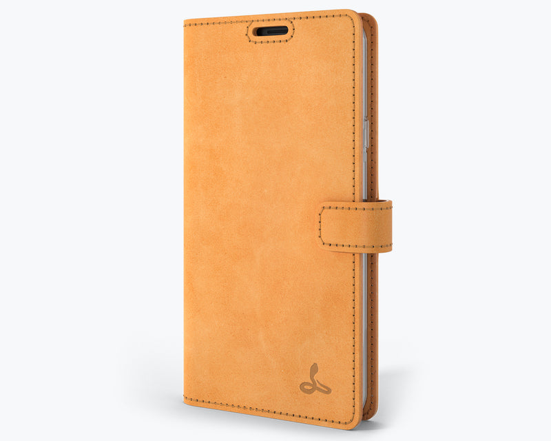 Vintage Leather Wallet - Samsung Galaxy S9