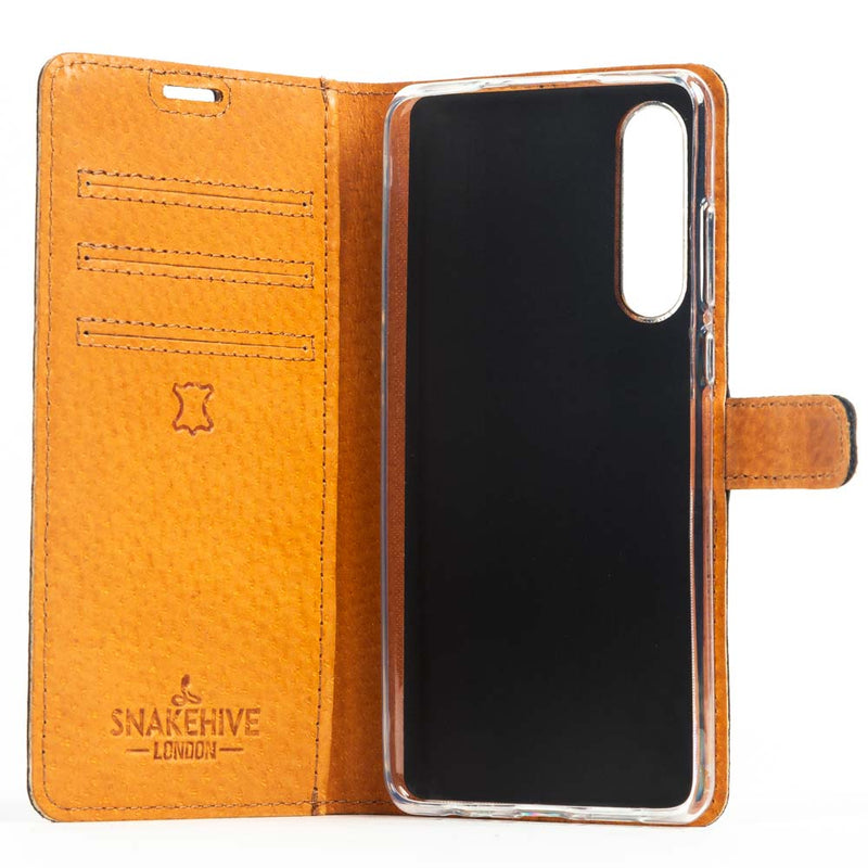 Vintage Leather Wallet - Huawei P30