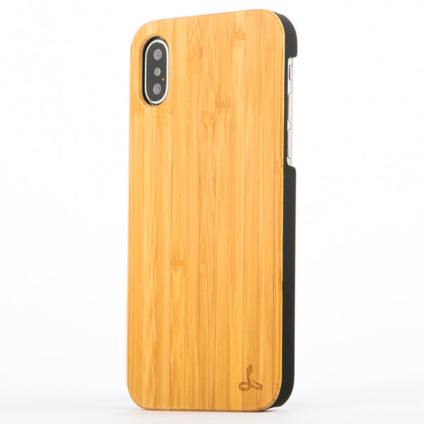 Wilderness Wood Back Case - Apple iPhone X/XS