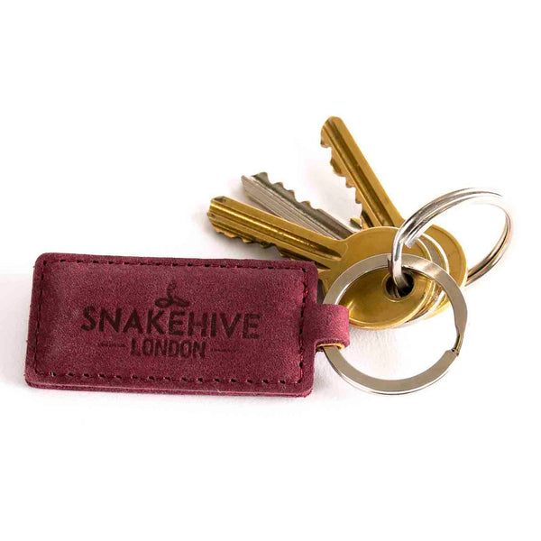 Vintage Plum Key Ring - Snakehive