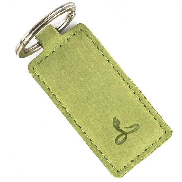 Vintage Moss Green Key Ring - Snakehive
