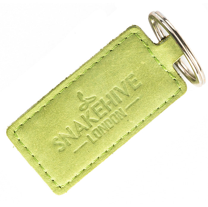 Vintage Moss Green Key Ring
