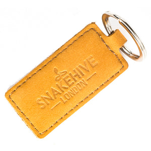 Vintage Honey Gold Key Ring - Snakehive