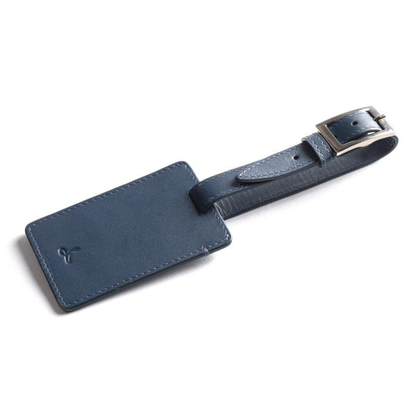LEATHER LUGGAGE TAG - THE ESSENTIAL COLLECTION