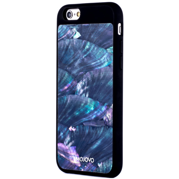 "Mojovo Iridescent Sea Blue Back Case €"" Apple iPhone 6 (Black Case) - Snakehive"