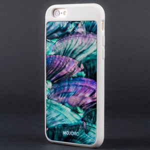Mojovo Iridescent Sea Blue Back Case – Apple iPhone 6 (White Case) - Snakehive