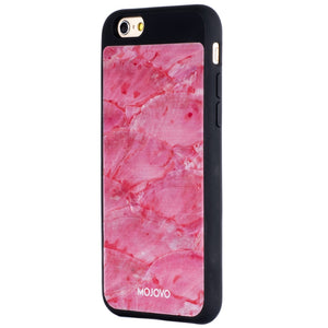 "Mojovo Iridescent Coral Pink Back Case €"" Apple iPhone 6/6s (Black Case) - Snakehive"