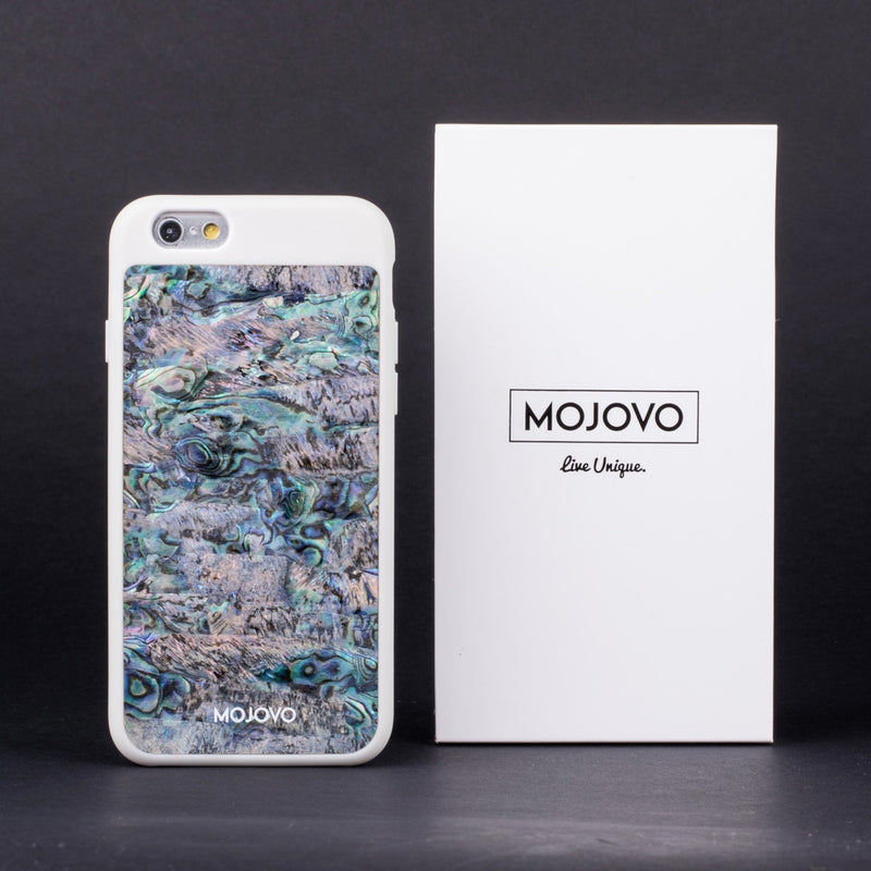 Mojovo Iridescent Deep Sea Back Case- Apple iPhone 6/6s (White Case) - Snakehive