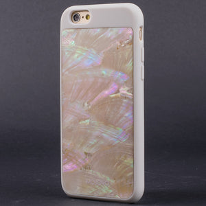 "Mojovo Iridescent Pearl Back Case €"" Apple iPhone 6 (White Case) - Snakehive"