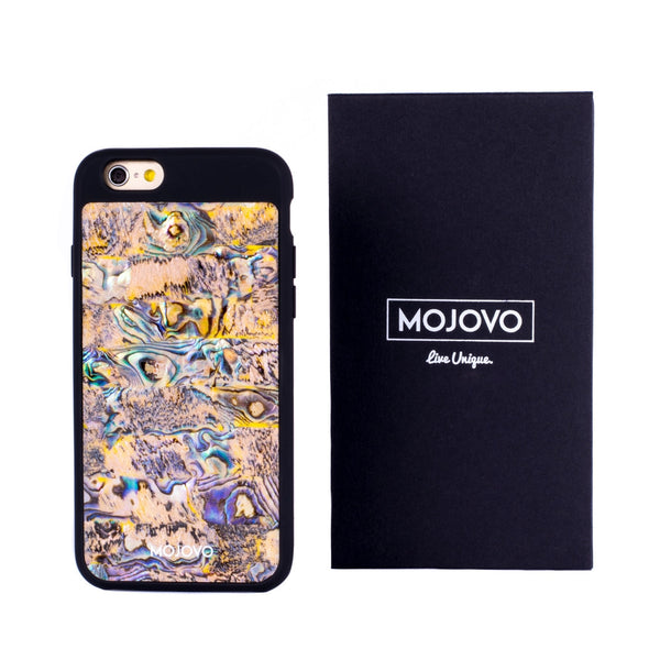 Mojovo Ocean Sands Back Case- Apple iPhone 6 (Black Case) - Snakehive