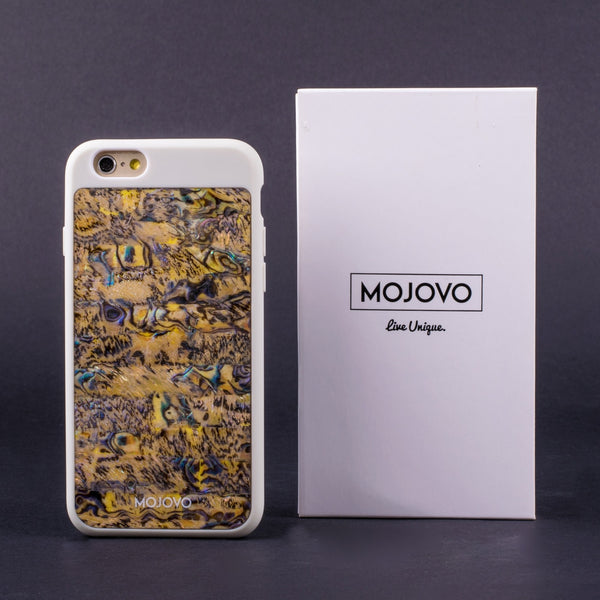 Mojovo Ocean Sands Back Case- Apple iPhone 6 (White Case) - Snakehive