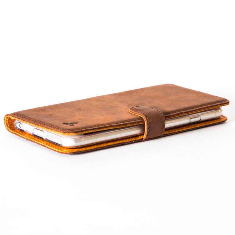 Vintage Leather Wallet - Apple iPhone 6/6S Plus