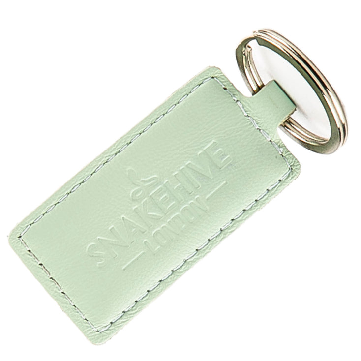 Pastel Mint Green Key Ring