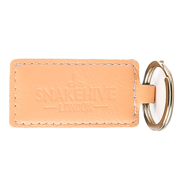 Pastel Peach Key Ring - Snakehive